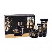 Diesel Spirit Of The Brave подаръчен комплект EDT 125 ml + душ гел 100 ml + душ гел 50 ml за мъже