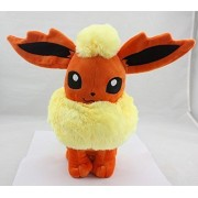 "Large Flareon Boostere Eevee Evolution Pokemon 13"" Anime Animal Stuffed Plush Plushies Doll Toys"