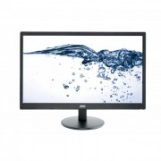 AOC LED monitor E2470SWDA 23.6\ Full HD, DVI, fekete