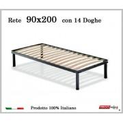 ErgoRelax Rete per materasso a 14 doghe in faggio VIENNA 90x200 cm. 100% Made in Italy