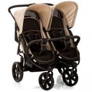 Бебешка количка за близнаци - Roadster Duo SLX Caviar Almond, Hauck, 512166