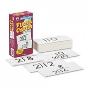Flash Cards, Division Facts 0-12, 3w X 6h, 93/pack By: Carson-Dellosa Publishing
