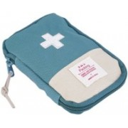Divinext Small First Aid Kit Travel Pouch Medicine Storage Bag (Multicolor)(Multicolor)