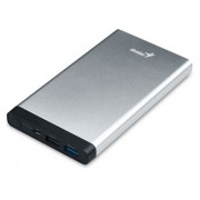 Power Bank Genius ECO-U1027 plata, 10000MAH, 39800013101