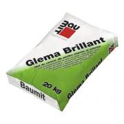 Glet de ciment Baumit Glema Brillant pentru interior si exterior alb 20 kg