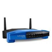 Linksys Router Linksys WRT1200AC Dual-band (2.4 GHz / 5 GHz) Gigabit Ethernet Nero, Blu