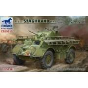 Bronco Models Model pojazdu pancernego T17E1 Staghound Mk.I - Bronco CB35115