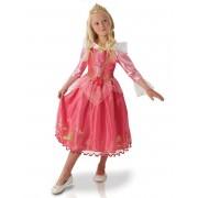 Disney Disfarce Disney Princesa Aurora menina - 5 - 6 anos (105/116 cm)