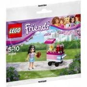 ЛЕГО Френдс Мъфини Щанд с мини фигурка и 28 части в оригинална опаковка, LEGO Friends Cupcake Stand, 30396