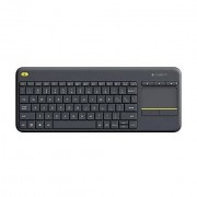 Logitech K400 Plus Tastiera Wireless Layout Italiano Colore Nero