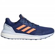 adidas Women's Response ST Running Shoes - Indigo/Orange/Blue - US 6/UK 4.5 - Indigo/Orange/Blue