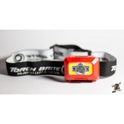 Torch Brite HT- 103C Rechargeable Head Torch (Red)