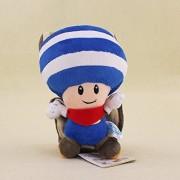 20 CM Super Mario Bros Flying Squirrel Toad Plush Toy