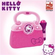 Geanta Cu Microfon Si Amplificator Hello Kitty New