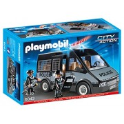 Playmobil 6043 City Action Police Van With Lights And Sound