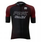 PBK Santini 19 Classic Team Jersey - Black/Red - L