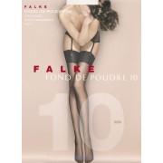 Falke Fond de Poudre 10 - Genomskinliga stockings med matt effektpowder L