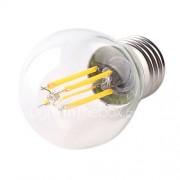 1pc 4w e26 / e27 led gloeilampen g45 4 high power led 360lm warm wit koud wit decoratief ac220-240v