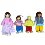 AK Sports Four Piece Dollhouse Doll Set 4100