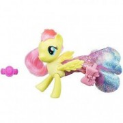 Figurina Fluttershy sirena si ponei My Little Pony Filmul