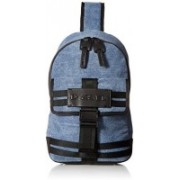 Diesel Mens Bag MCAGE MonoBackpack peacoat blueblack One Size 10 L Backpack(Multicolor)