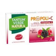 Angelini Spa Tantum Verde Natura - Pastiglie Gommose Con Propoli, Zinco E Vit. C Confezione Da 15 Pastiglie Gommose; Gusto Frutti Di Bosco