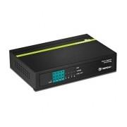 Switch Trendnet Gigabit Ethernet TPE-TG44G, 4 Puertos Gigabit PoE+ + 4 Puertos Gigabit, 16 Gbit/s, 1000 entradas