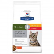 Hill's Prescription Diet Metabolic + Urinary Stress Weight + Urinary Care - Set %: 2 x 4 kg