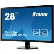 Iiyama ProLite X2888HS-B2 28 Full HD LCD Mat Zwart PC-flat panel