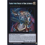 Yu Gi Oh! Sacred Noble Knight Of King Artorigus (Nkrt En038) Noble Knights Of The Round Table 1st Edition Platinum Rare By Yu Gi Oh!