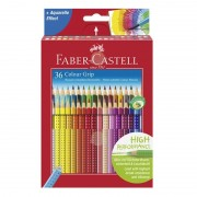 CREIOANE COLOR FABER-CASTELL GRIP SET 36 CULORI - FC112442