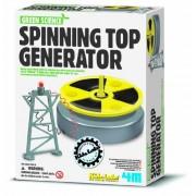 Toysmith 4M Green Science Spinning Top Generator
