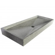 Saniteck Grand plan vasque gris