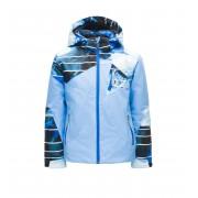 Spyder Girl's Ava Jacket - 451 Blue Ice/Powder Peak Print/Turkish Sea - Isolation & Vestes d'hiver 16