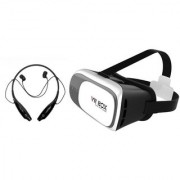 HBS 730 bluetooth headset and VR box Neckband bluetooth headset   Stereo Music Earphone Bluetooth Headset with Mic