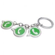 KD COLLECTIONS Whatsapp Logo Metal Keychain Keyring