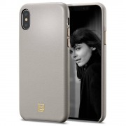 Carcasa fashion Spigen LA MANON Calin iPhone XS Max Oatmeal Beige