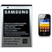100 ORIGINAL SAMSUNG EB454357VU BATTERY FOR GALAXY Y S5360/S5380/i509 1200mah