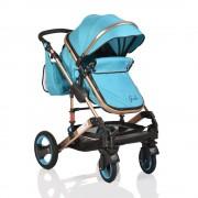 Cangaroo Kolica za bebe Gala Turquoise (CAN4232)