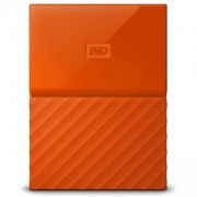 Външен диск HDD 1TB USB 3.0 MyPassport Orange, WDBYNN0010BOR