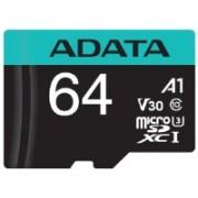 ADATA PREMIER PRO 64 GB MicroSD Card Class 10 100 Memory Card