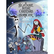 The Nightmare Before Christmas Coloring Book: Tim Burton Coloring Book With Unofficial High Quality Images For Kids And Adults, Paperback/Jack Skellington