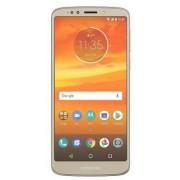 "Telefon Mobil Motorola Moto E5 Plus, Procesor Quad-Core 1.4GHz, IPS LCD capacitive touchscreen 6"", 3GB RAM, 32GB Flash, 12MP, Wi-Fi, 4G, Dual Sim, Android (Auriu) + Cartela SIM Orange PrePay, 6 euro credit, 4 GB internet 4G, 2,000 minute nationale si inte"