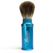 Baxter Of California Pure Badger Hair Travel Aluminum Shave Brush 838364009999
