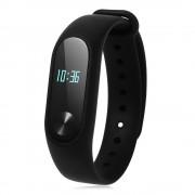 Фитнес гривна Xiaomi Mi Band 2, Heart rate monitor, OLED, Крачки, Калории, Facebook нотификации, IP67, Черна
