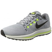 Nike Men s Air Zoom Vomero 12 Wolf Grey Black - Cool Grey 863762-002 Wolf Grey/Black-cool Grey 8 D(M) US