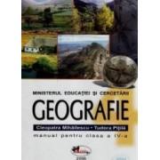 Manual geografie Clasa 4 - Cleopatra Mihailescu Tudora Pitila