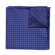 Batistă bărbătească de buzunar formă pătrată Willsoor (model 119) 8555 Blue