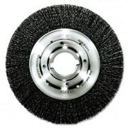 Trulock Tlm-10 Narrow-Face Crimped Wire Wheel, 10 Inch Dia, .014 Wire, Arbor Dia: 2 Inch