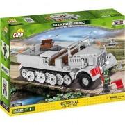 Set de constructie Cobi, Small Army, Masina Blindata SK KFZ 9 FAMO, 412 piese